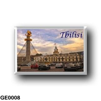 GE0008 Asia - Georgia - Tbilisi - Panorama