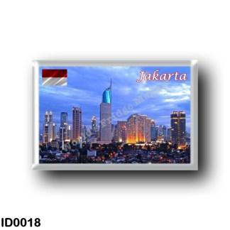 ID0018 Asia - Indonesia - Jakarta Skyline
