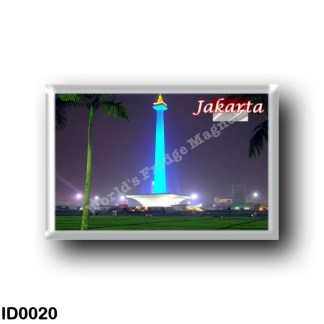ID0020 Asia - Indonesia - Medan Merdeka Park - The National Monument