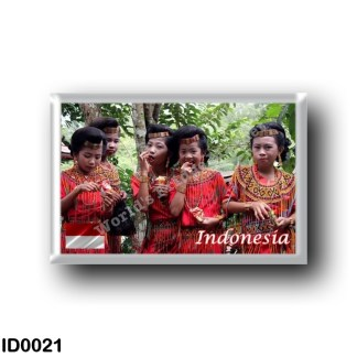 ID0021 Asia - Indonesia - Indonesian Girls