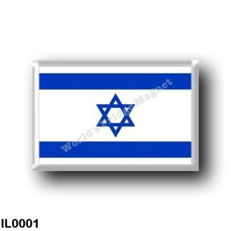 IL0001 Asia - Israel - Flag