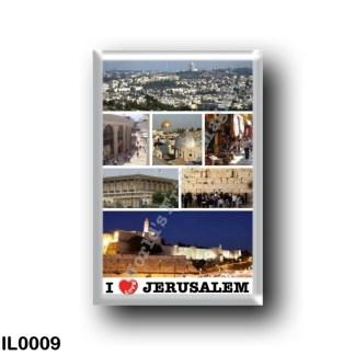IL0009 Asia - Israel - Jerusalem - I Love