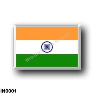 IN0001 Asia - India - Flag