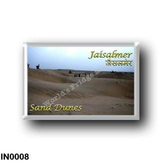 IN0008 Asia - India - Jaisalmen - Sand Dunes
