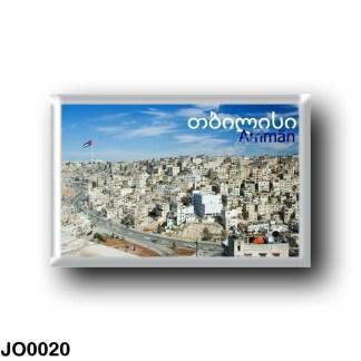 JO0020 Asia - Jordan - Amman Panorama