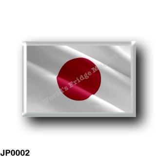 JP0002 Asia - Japan - Flag Waving