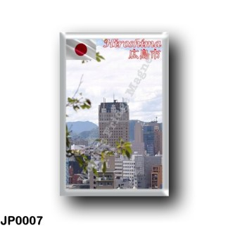 JP0007 Asia - Japan - Hiroshima - Panorama