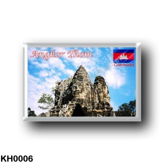 KH0006 Asia - Cambodia - Angkor Thom - Victory gate