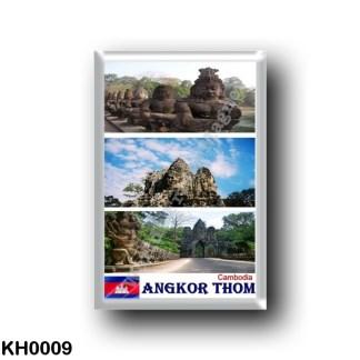 KH0009 Asia - Cambodia - Angkor Thom - Mosaic