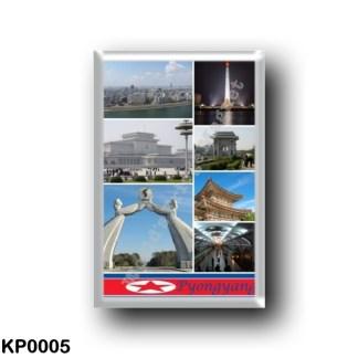 KP0005 Asia - North Korea - Pyongyang - Mosaic