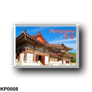 KP0008 Asia - North Korea - Pyongyang - Tomb of King Tongmyong