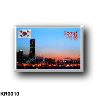 KR0010 Asia - South Korea - Seoul By Night
