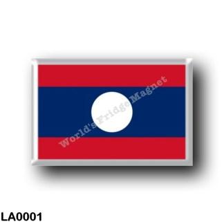 LA0001 Asia - Laos - Flag