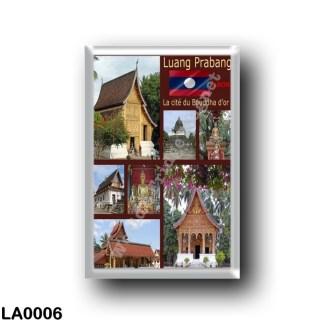 LA0006 Asia - Laos - Luang Prabang - Mosaic