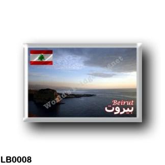LB0008 Asia - Lebanon - Beirut Sunset