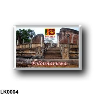 LK0004 Asia - Sri Lanka - Polonnaruwa - Temple