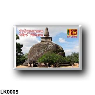 LK0005 Asia - Sri Lanka - Polonnaruwa - Kiri Vihara