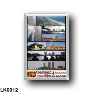 LK0012 Asia - Sri Lanka - Colombo - Mosaic