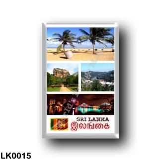 LK0015 Asia - Sri Lanka - Mosaic Sri Lanka