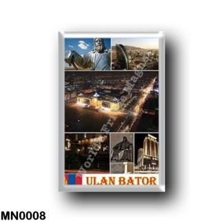 MN0008 Asia - Mongolia - Ulan Bator - Mosaic