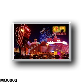 MO0003 Asia - Macau - Casino Lights