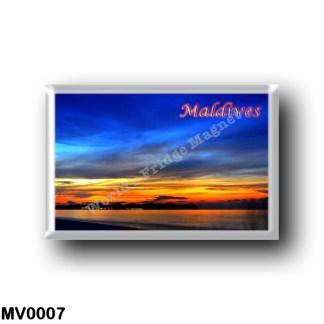 MV0007 Asia - Maldives - Sunset