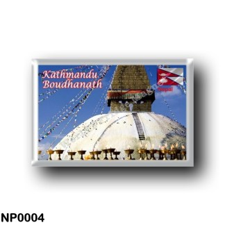 NP0004 Asia - Nepal - Kathmandu - Boudhanath