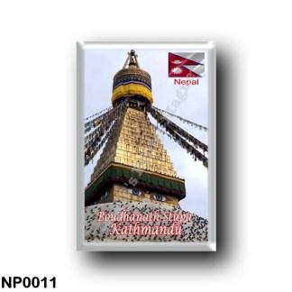 NP0011 Asia - Nepal - Kathmandu - Boudhanath Stupa