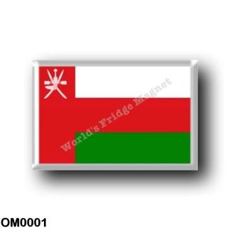 OM0001 Asia - Oman - Flag