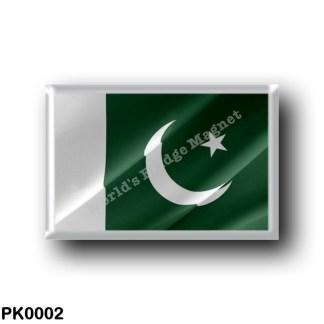 PK0002 Asia - Pakistan - Flag Waving