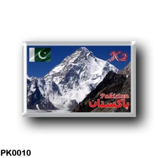 PK0010 Asia - Pakistan - K2
