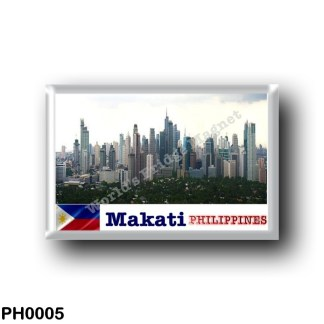 PH0005 Asia - Philippines - Makati skyline