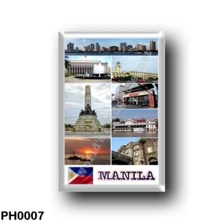 PH0007 Asia - Philippines - Manila Mosaic