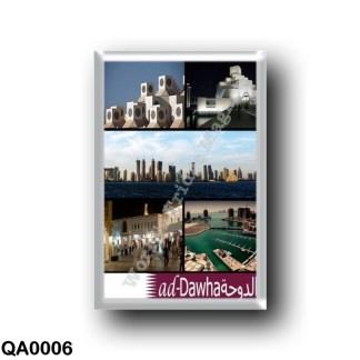 QA0006 Asia - Qatar - Doha - Mosaic