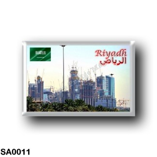 SA0011 Asia - Saudi Arabia - Riyadh - The king Abdullah Financial District