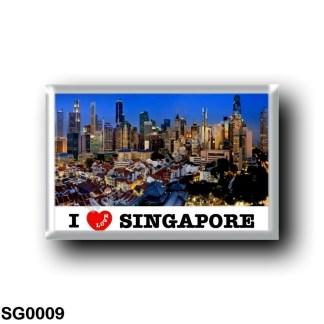 SG0009 Asia - Singapore - I Love
