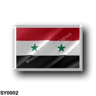 SY0002 Asia - Syria - Flag Waving
