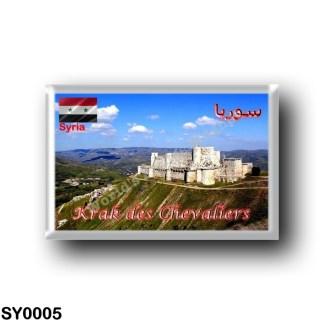 SY0005 Asia - Syria - Krak des Chevaliers - Landscape