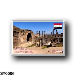 SY0006 Asia - Syria - Roman Ruins in Bosra