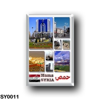 SY0011 Asia - Syria - Homs - Mosaic