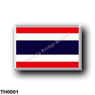 TH0001 Asia - Thailand - Flag