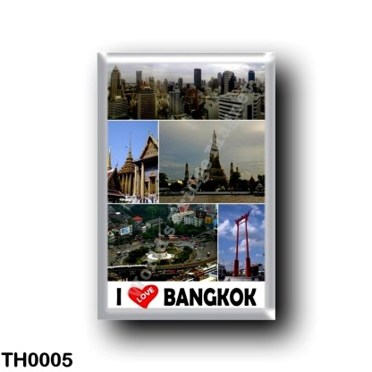 TH0005 Asia - Thailand - Bangkok - I Love