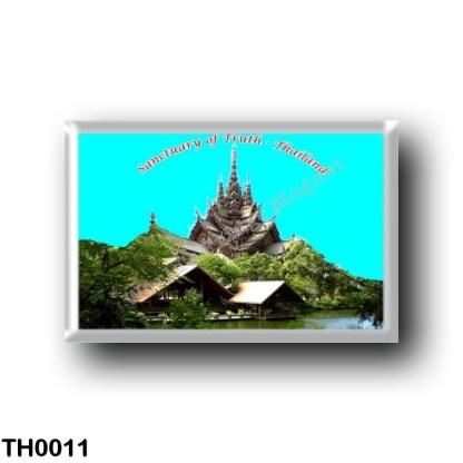 TH0011 Asia - Thailand - Pattaya - Sanctuary of Truth