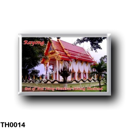 TH0014 Asia - Thailand - Rayong - Bot of Wat Nong Kankrao Klaeng