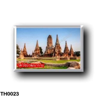 TH0023 Asia - Thailand - Wat ChaiwatThanaram