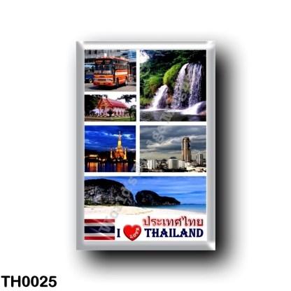 TH0025 Asia - Thailand - I Love