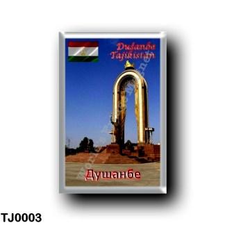 TJ0003 Asia - Tajikistan - Dushanbe - Somoni Monument