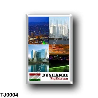 TJ0004 Asia - Tajikistan - Dushanbe - Mosaic