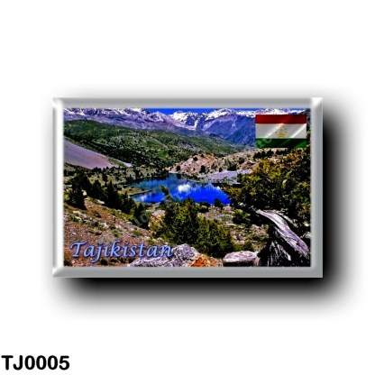TJ0005 Asia - Tajikistan - Fan Mountains -