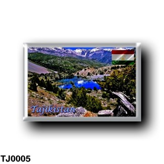 TJ0005 Asia - Tajikistan - Fan Mountains -